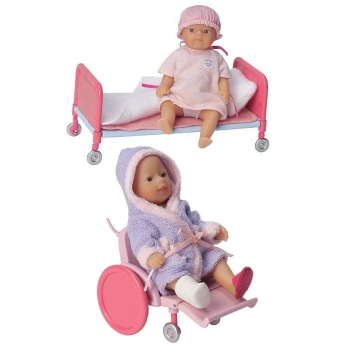 Кукла mini baby born Пациенты больницы