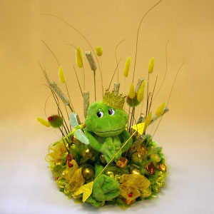 Букет из конфет Царевна-лягушка