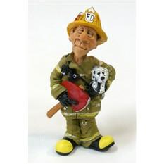 Статуэтка МЧС-Пожарный