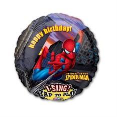 Поющий шар Happy Birthday Человек паук