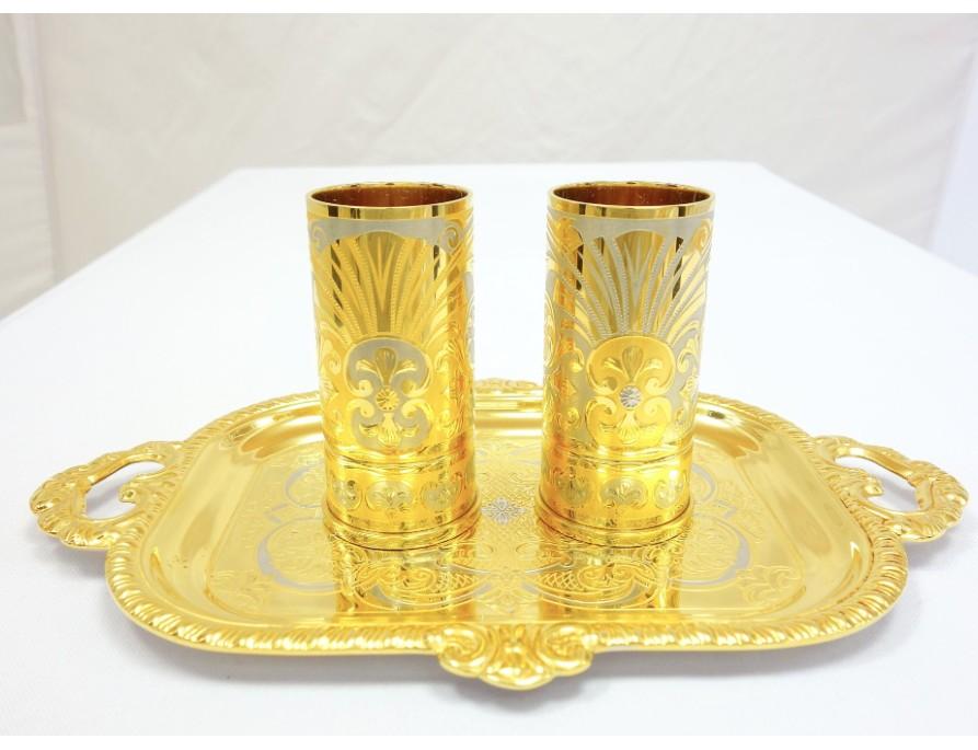 Водочный набор Золотая пара