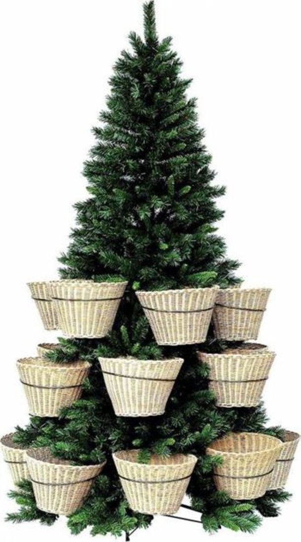 Елка с корзинками Basket Pine