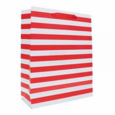 Пакет Красно-белые полосы