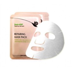 Маска для лица с муцином улитки Snail Repairing Mask Pack