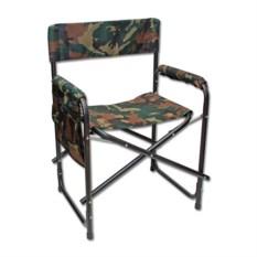 Складное кресло с карманом на подлокотнике