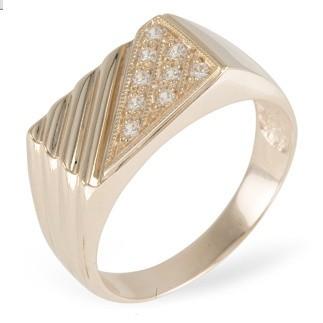 Перстень с кристаллами Swarovski