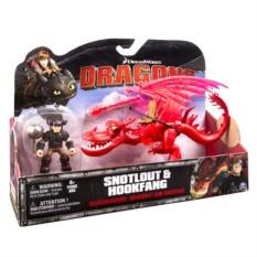 Игровой набор Дракон и всадник (Кривоклык) Dragons
