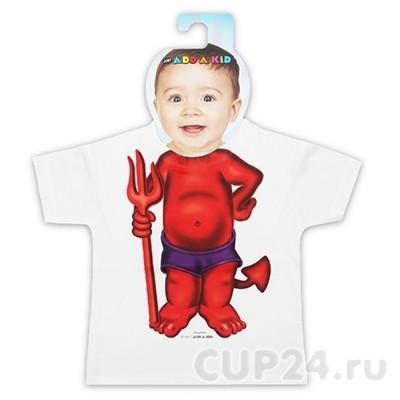 Детская футболка Чертенок