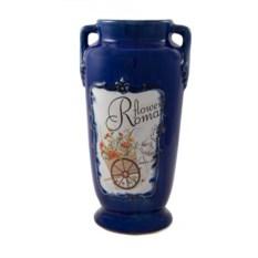 Керамическая ваза Цветочный романс