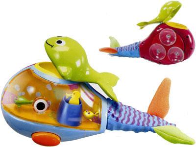 Игровой центр для ванны «Веселый кит»