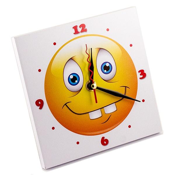 Часы Смайлик Зубастик