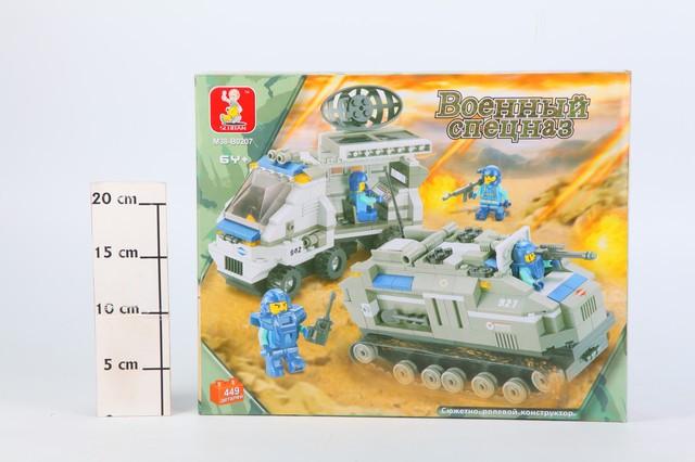 Конструктор Sluban Военный спецназ, 449 деталей