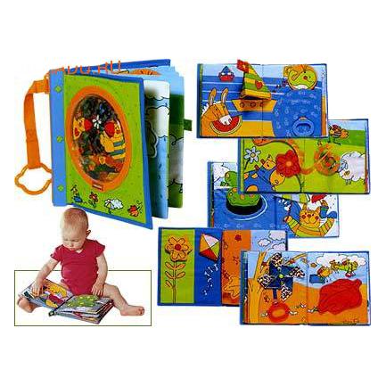 Тряпочная книга для малыша