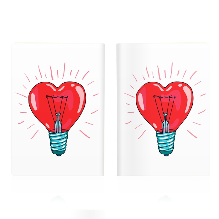 Обложка для паспорта Heart
