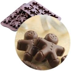 Форма для шоколада «Мистер Джинджер»