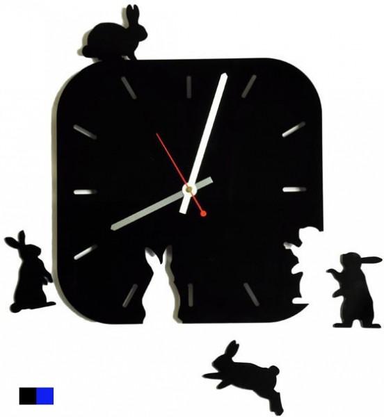 Настенные часы Поляна зайцев
