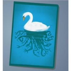 Обложка на паспорт Swan