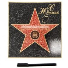 Диплом-открытка Звезда. С юбилеем