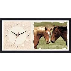 Часы из песка Лошади