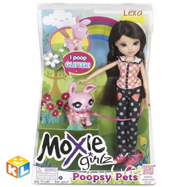 Кукла Moxie с питомцем Лекса+Зайка