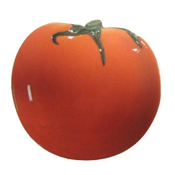 Керамическая тарелка «Помидор»
