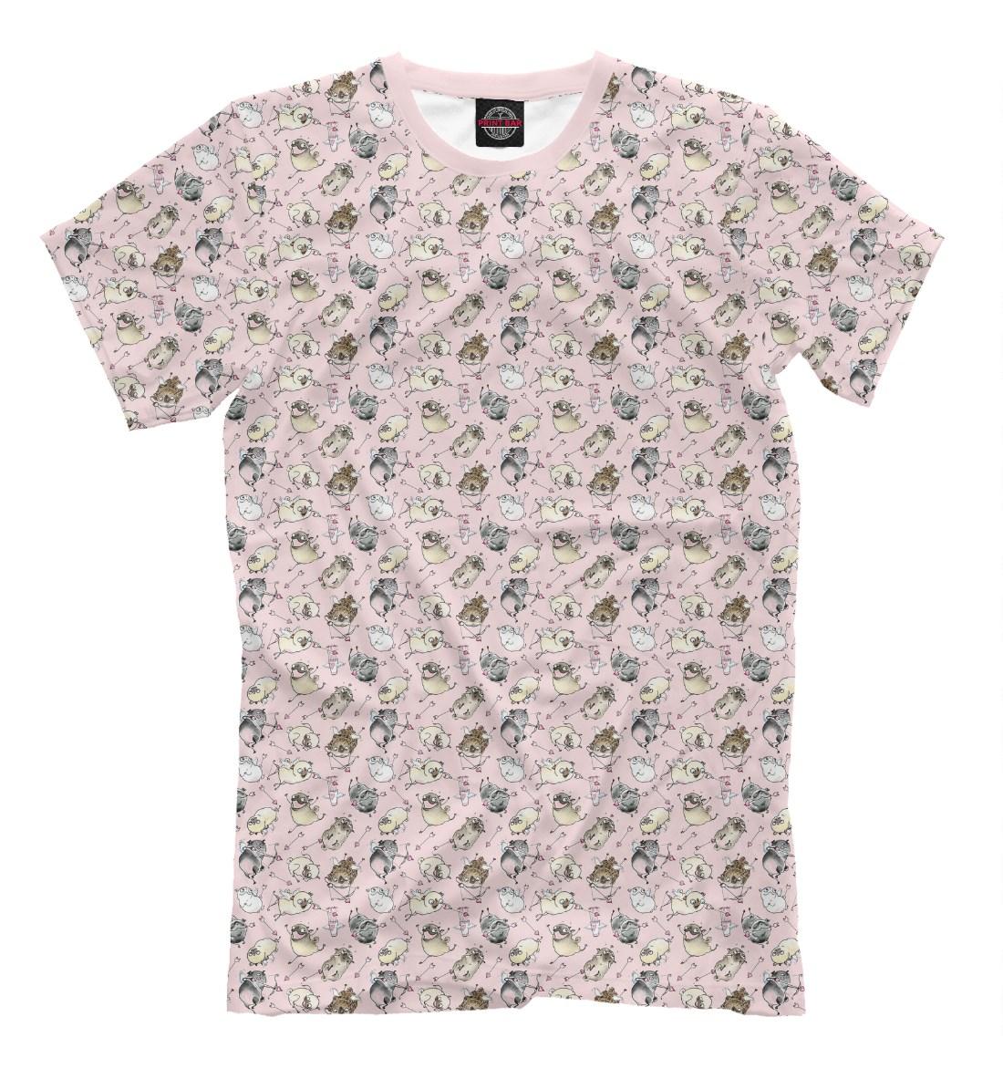 Мужская футболка Влюбленные собачки