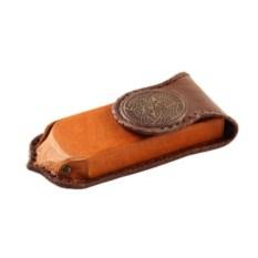 Кожаный футляр для очков Премиум