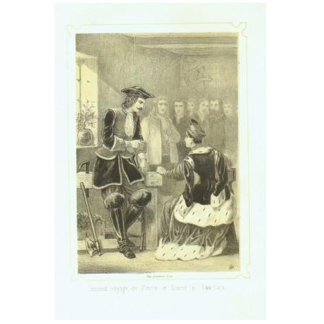 Второе путешествие Петра Великого в Саардам
