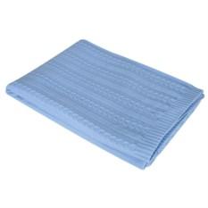 Голубой плед Comfort