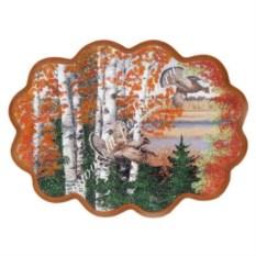 Панно из каменной крошки Рябчики в лесу