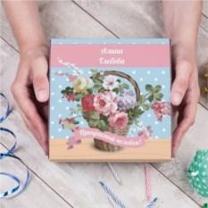 Набор конфет в подарочной упаковке «Цветущий букет»