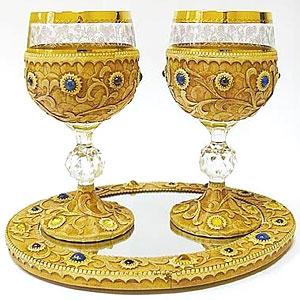 Набор из двух бокалов «Лазурит»