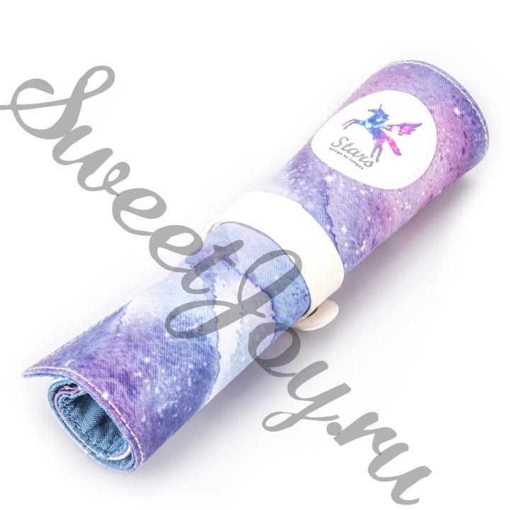 Пенал-ролл Stars Lilac