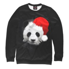 Мужской свитшот Панда в колпаке