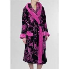 Элитный велюровый халат Fleur от Emanuel Ungaro