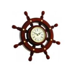 Часы в виде штурвала с немецким механизмом Fisher