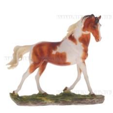 Декоративная фигурка Лошадь (цвет — бело-рыжий)