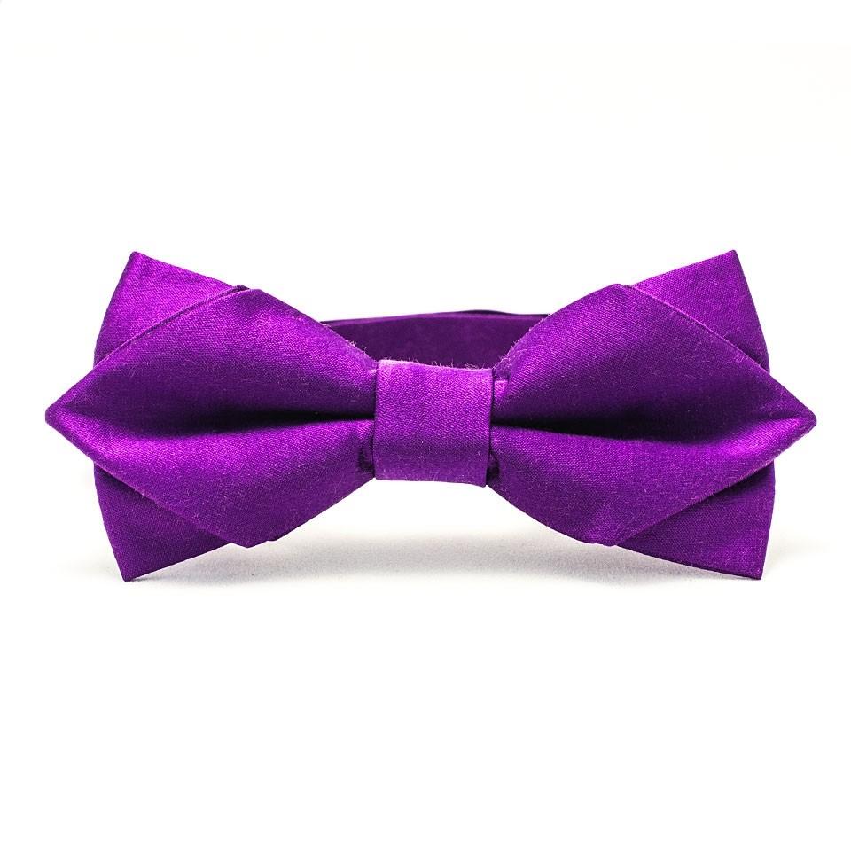 Галстук-бабочка (фиолетовая)