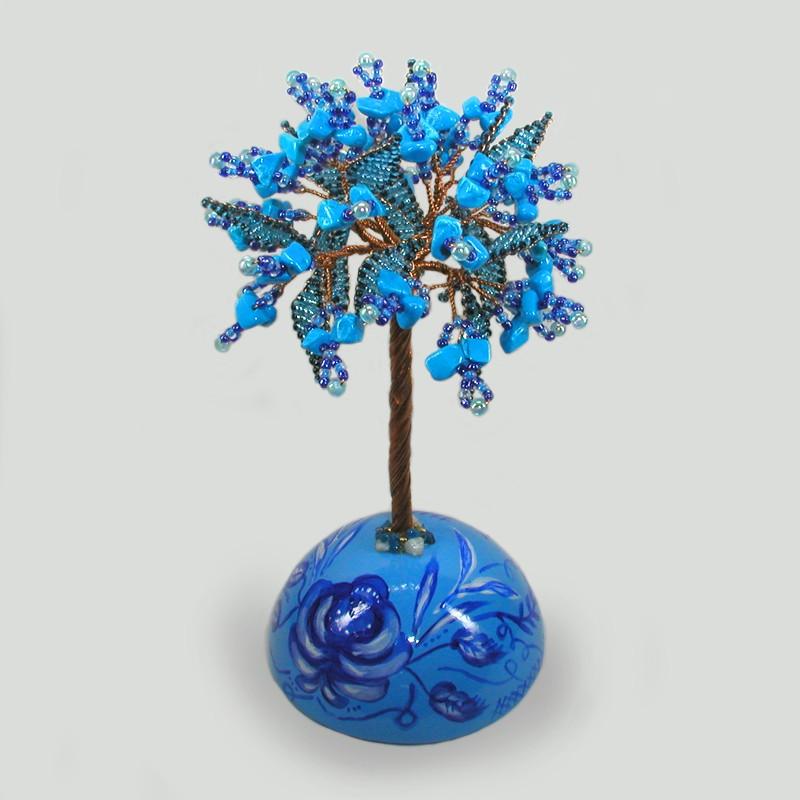 Дерево из бирюзы Полет любви