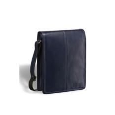 Кожаная сумка через плечо Brialdi Boston (цвет — синий)