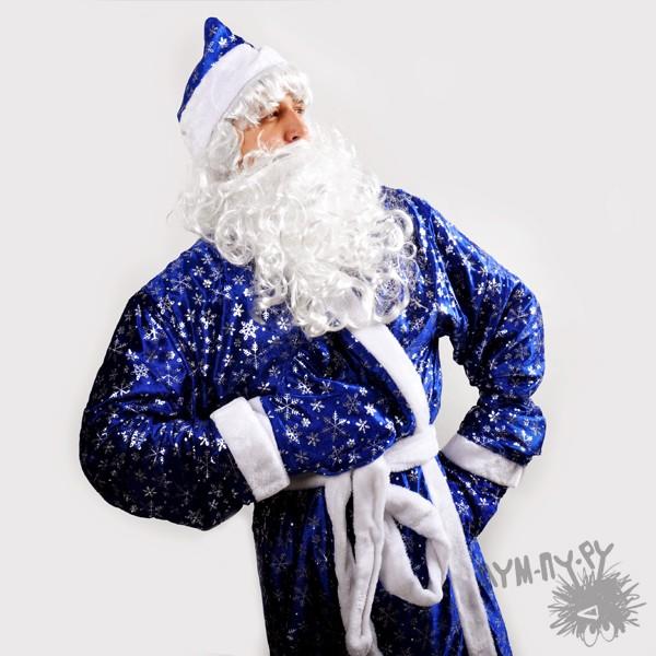 Костюм Деда Мороза (гламурный вариант)