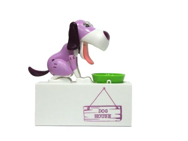 Интерактивная копилка Голодный Пес (фиолетовый)