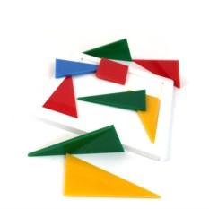 Пластиковая головоломка «Четыре цвета»