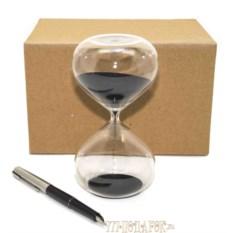 Песочные часы на 10 минут (черный песок)