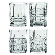Набор из четырех стаканов для виски HIGHLAND