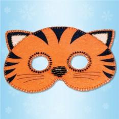 Карнавальная маска «Тигренок»