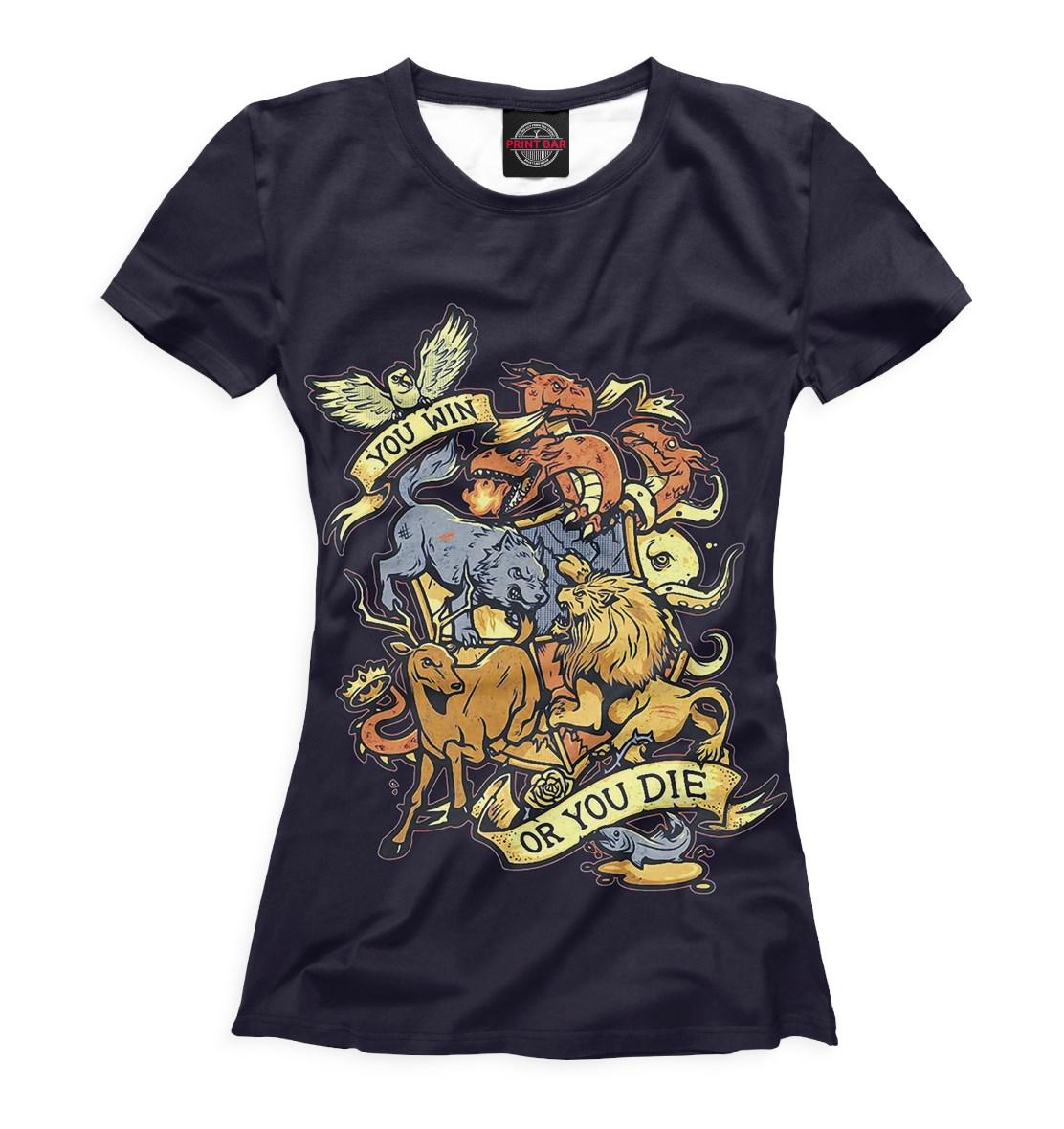 1af2bfd825792 Женская футболка с 3D-принтом