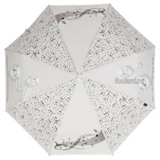 Женский зонт в светлых оттенках EMME Boll Beige