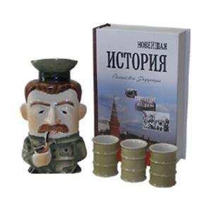 Подарок патриоту: Сталин с тремя стопками