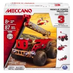 Конструктор Meccano Набор спасателей (3 модели)